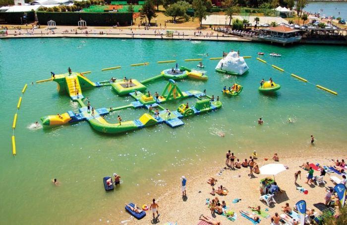 Мобильный аквапарк Sports Park 60.