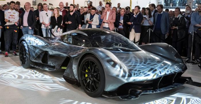 Новый гипер-кар Aston Martin.