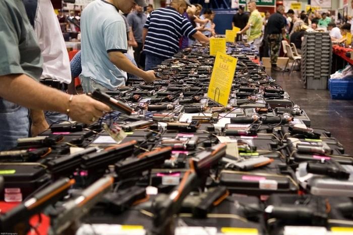 У американцев огромное количество оружия на руках. /Фото: euroua.com.