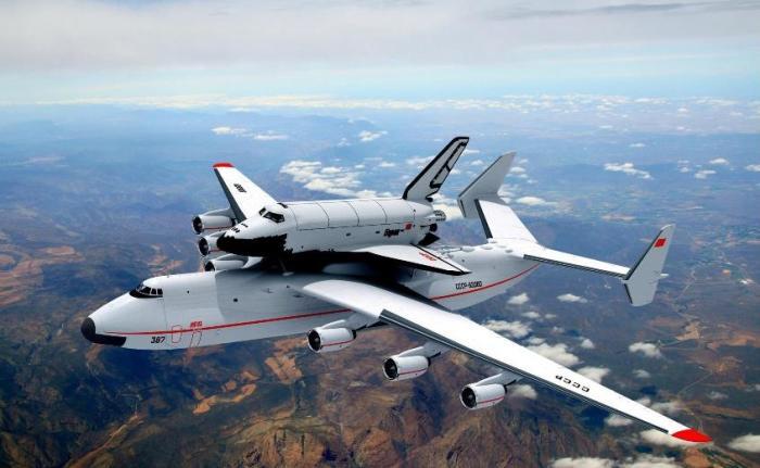 Ан-225 «Мрия» создавался для советской космической программы.