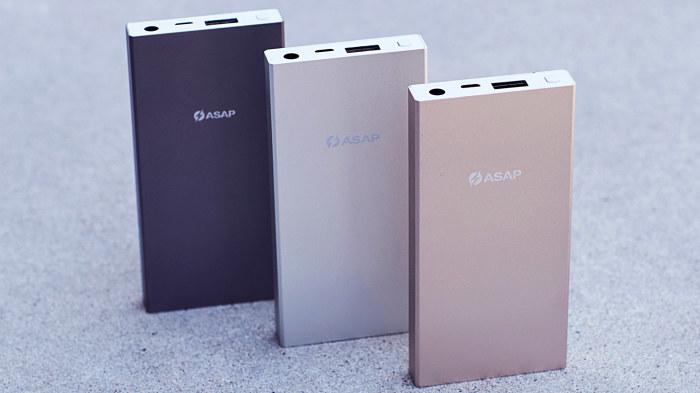 Самый быстрый резервный аккумулятор ASAP Dash