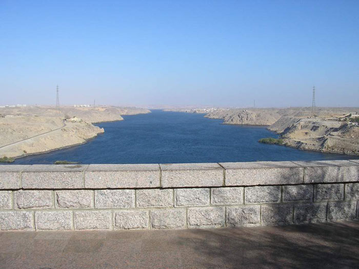 Нил изменился с этой плотиной.