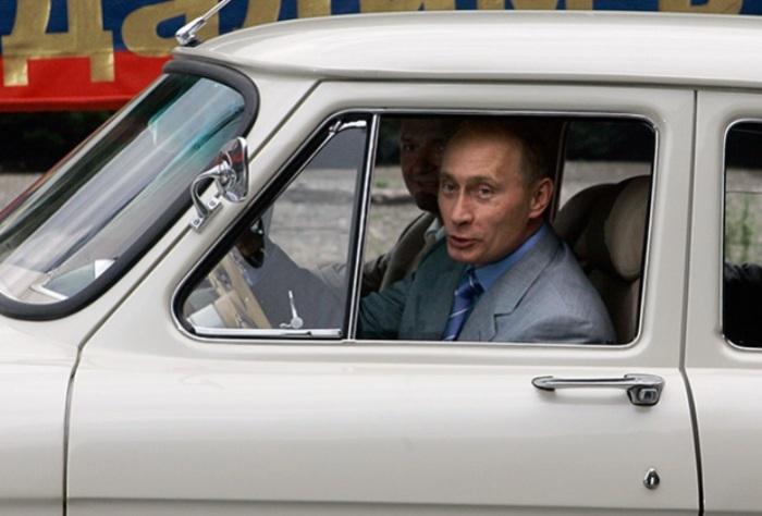 Коллекционная машина Путина.