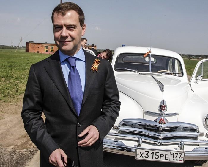 Коллекционный автомобиль Медведева.