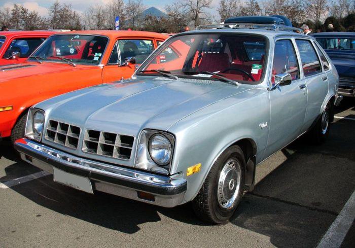 Chevrolet Chevette не оправдал надежд.