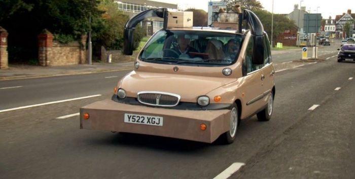 Все хорошо в Fiat Multipla, кроме дизайна.