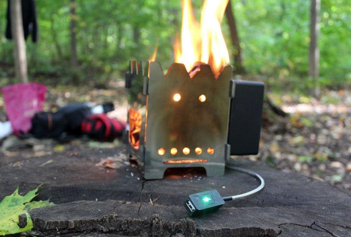 Можно топить даже слабым топливом.