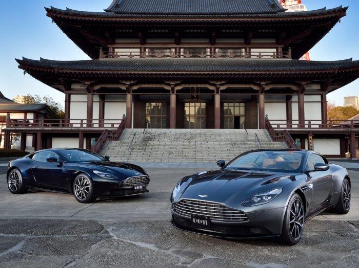 Стильный Aston Martin DB11 даже боишься.