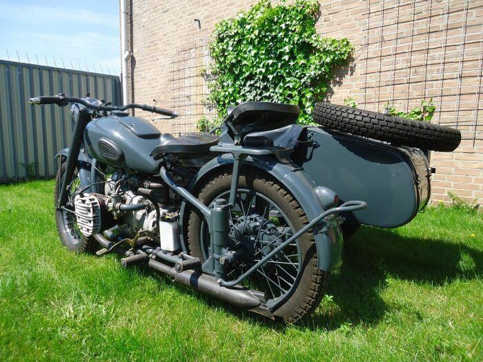 62-ой Урал - отличный мотоцикл был. /Фото: pinterest.com.