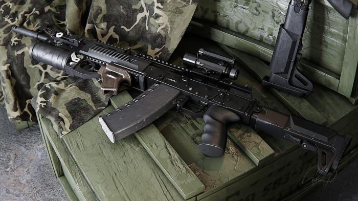 Новое поколение оружия. /Фото: artstation.com.