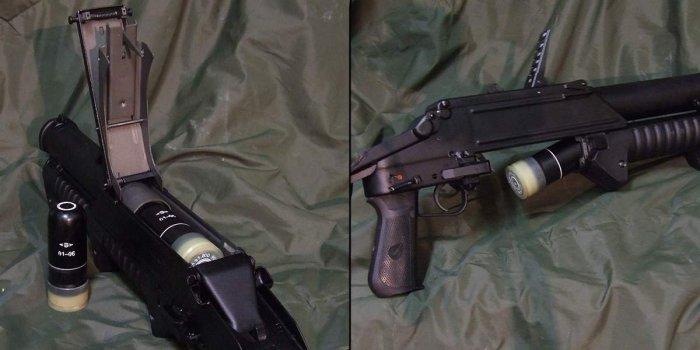 Ствол под коробом с боеприпасами. /Фото: forum.caliber.ru.