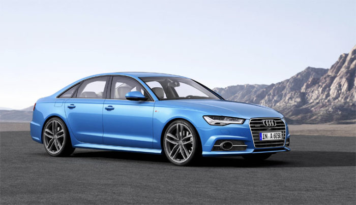 Старый новый Audi A6.