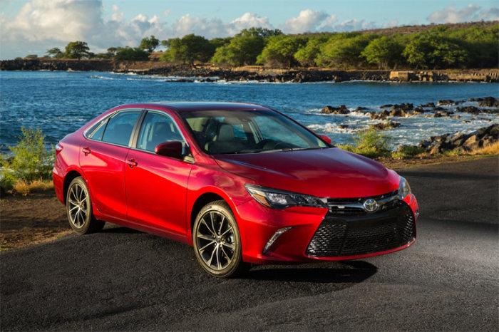 Достоин внимания и новый Toyota Camry.