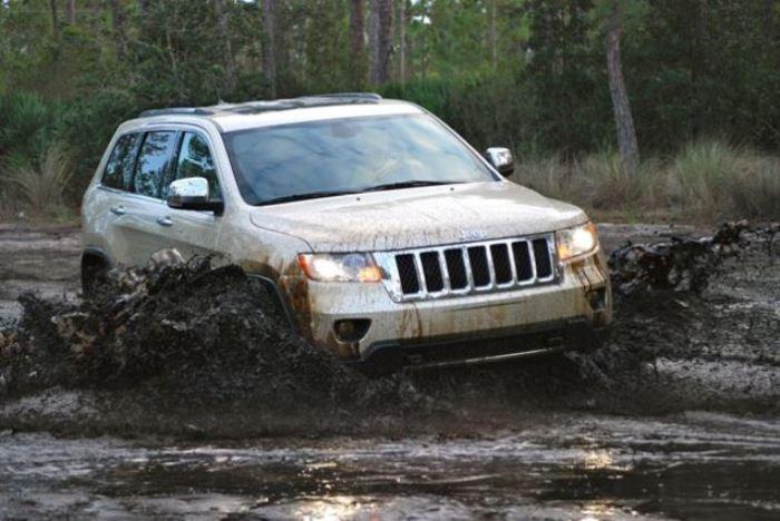 Стиль и проходимость в Jeep Grand Cherokee.
