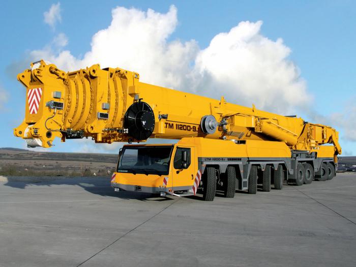 Очень большой и сильный XCMG QAY1200.