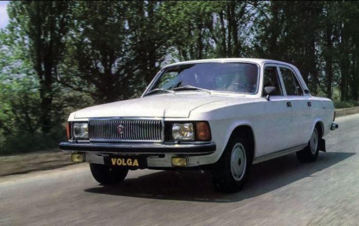 Волга  ГАЗ-3102 особенный автомобиль.