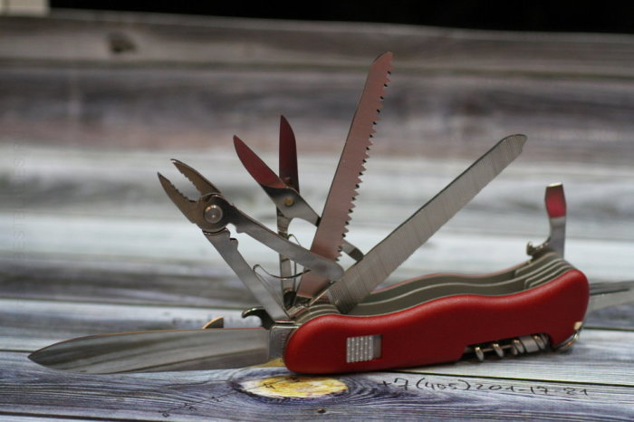 Запомните, нож - это инструмент. /Фото: io.ua.
