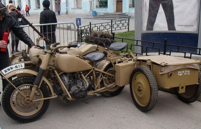 Мотоцикл BMW R75  полной комплектации.