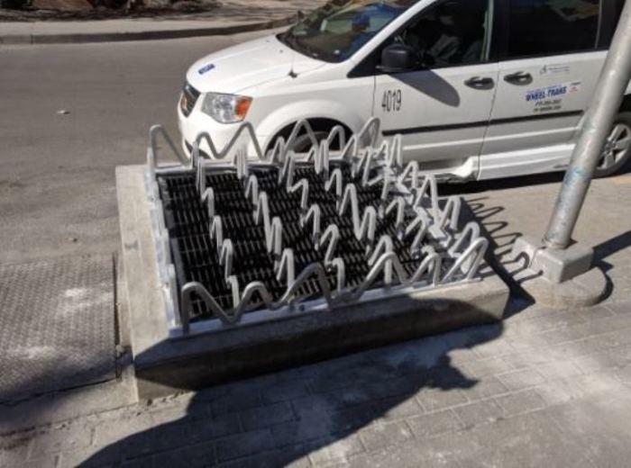 Решетка от бездомных.