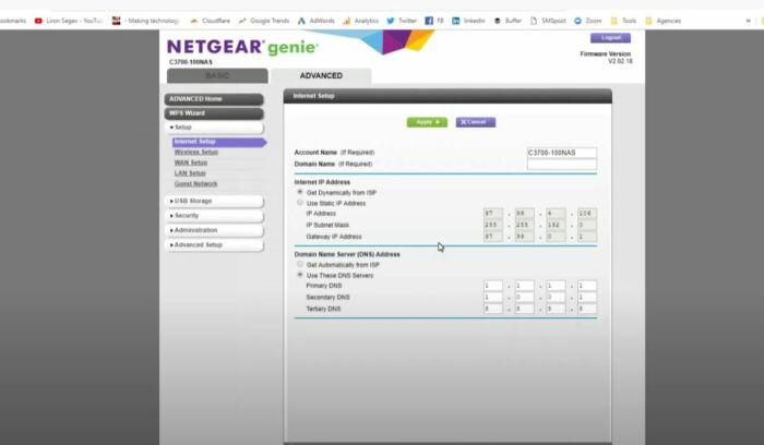 Прописываем DNS, сохраняем и готово. /Фото: youtube.com.