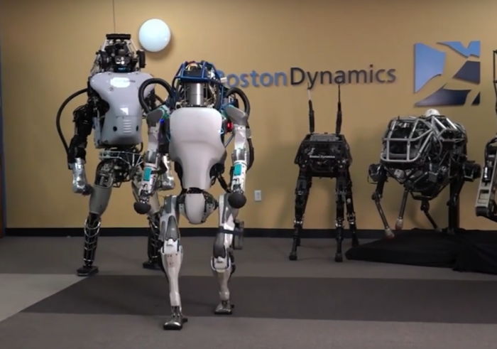 Роботы Boston Dynamics .
