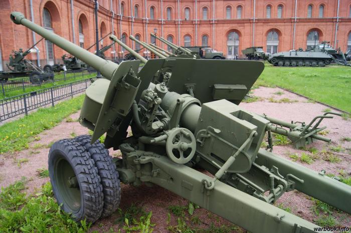 Знаменитая пушка. /Фото: war-time.ru.