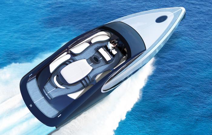 Роскошная яхта от Bugatti.