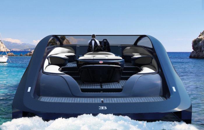 1000-сильная роскошная яхта от Bugatti .