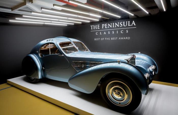 Автомобиль Bugatti Type 57 SC Atlantic Coupe не зает себе равных.