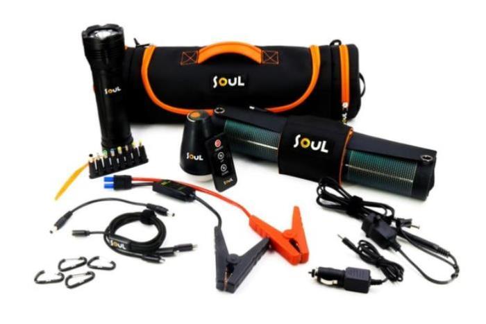 Soul Solar Kit поможет зарядится от солнца.