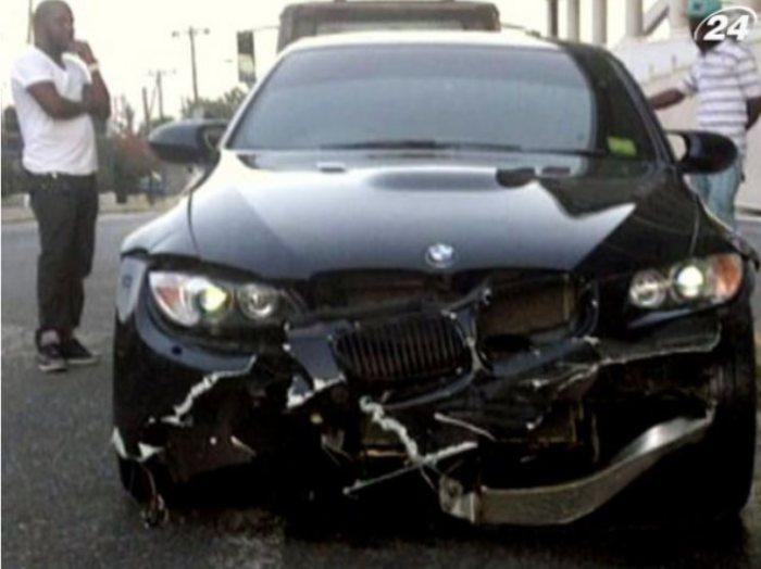 Опять разбил BMW.