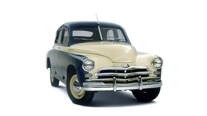 ГАЗ-М20 «Победа» стал первым действительно массовым экспортным авто.