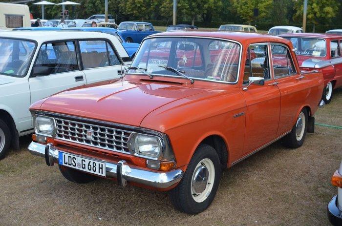 «Москвич»-408/412 стал отличным экспортным авто.