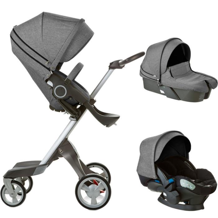 STOKKE XPLORY - коляска с адаптивной люлькой.