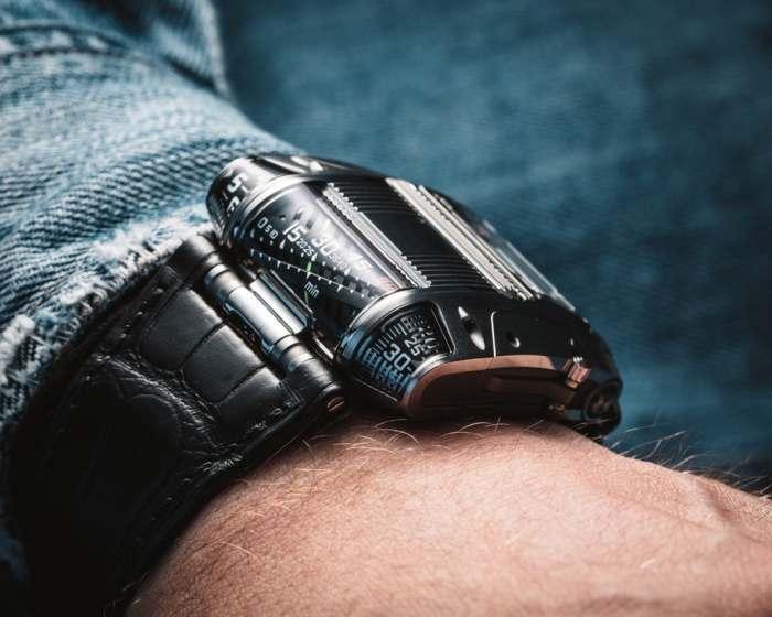 Новое видение того, как должны выглядеть механические часы.