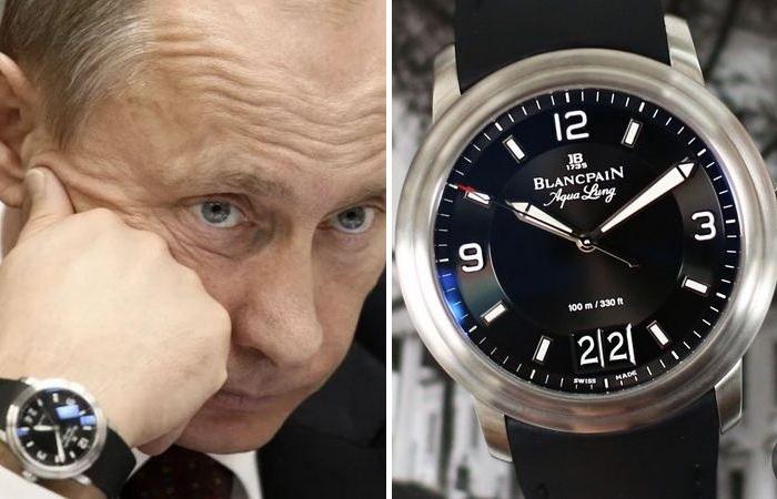 Судя по всему - любимая марка часов Владимира Путина. /Фото: novate.ru.