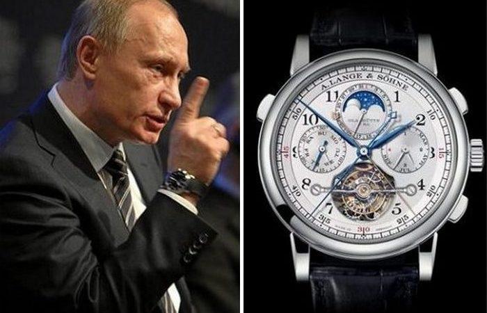Еще одна дорогая штука на руке главы государства. /Фото: ya.ru.