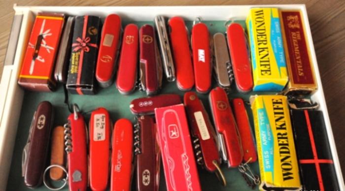 И швейцарские ножики тоже там делают.