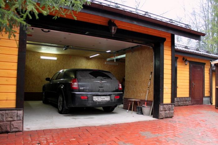 Загнал в гараж и спишь спокойно.