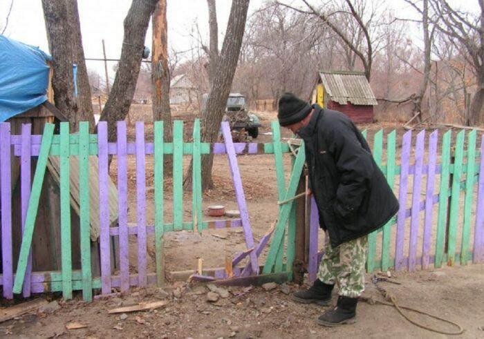 За оградой нужно следить. /Фото: gs.by.