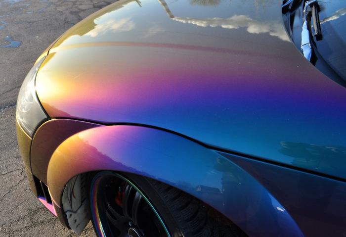 Машины стараются красить, чтобы скрыть дефекты. /Фото: veb-autoservice.ru.