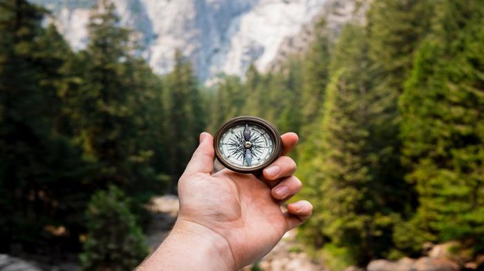 Полезно уметь обращаться с компасом. /Фото: ru.best-wallpaper.net.