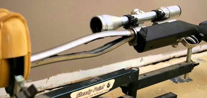 Желтые боеприпасы используются при проверке ствола на прочность. /Фото: elsat.cz.