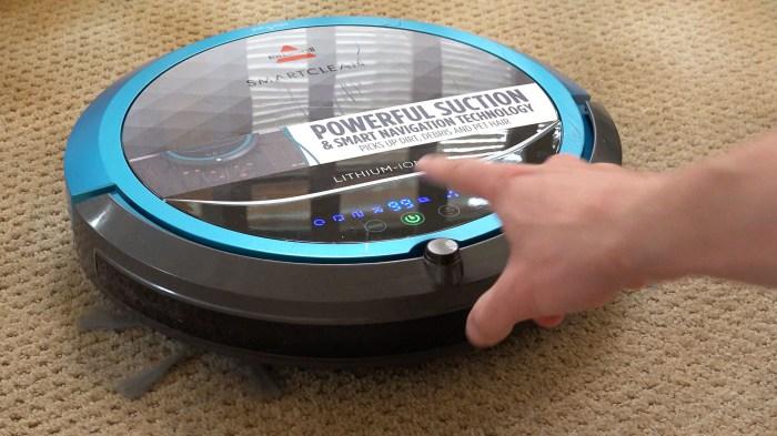 BISSELL SmartClean Robotic Vacuum: идеально чистый пол.