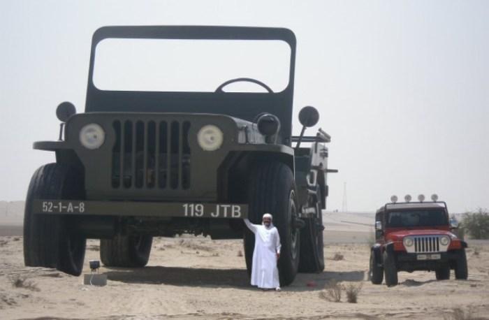 И дорогого автомобиля. Шейх Хамад не исключение.