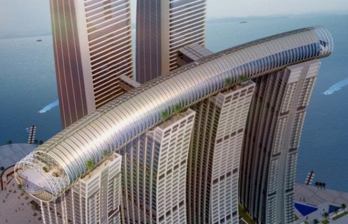 Амбициозный строительный проект из Китая.