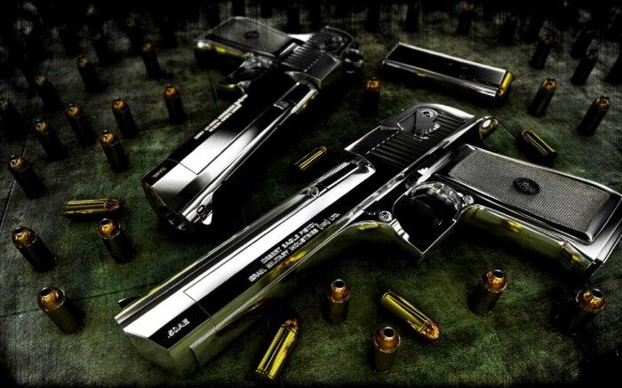 Ближе к пистолеты. /Фото: wallpapershome.com.