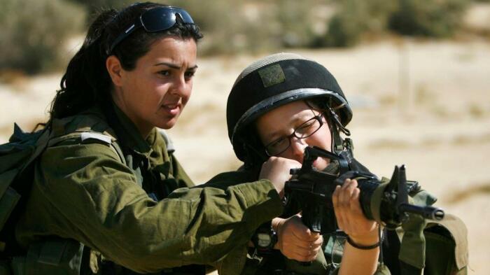 В Израиле служат и девушки. /Фото: yobte.ru.