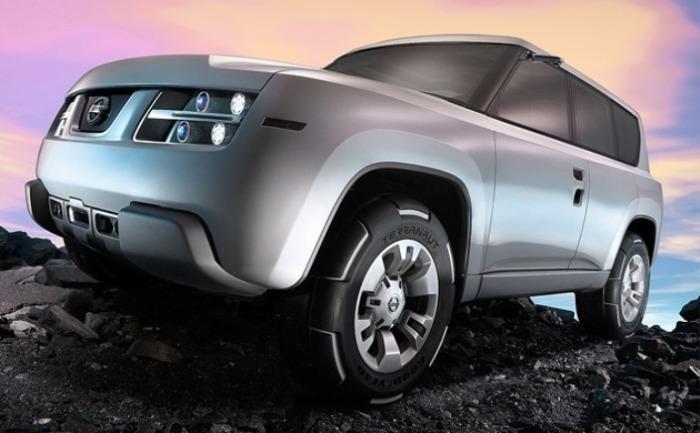 И куда делить красивые диски  Nissan Terranaut в серийной модели?