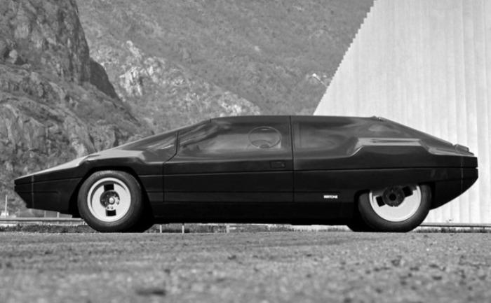 Смелый Lancia Sibilo Concept так и остался концептом.